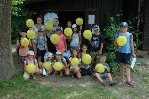 Gruppenfoto der Ferienspielkinder aus Langenselbold
